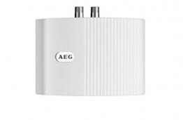 AEG 189554 MTH 350 hydraulischer Klein-Durchlauferhitzer EEK A, 3,5 kW drucklos für Handwaschbecken - 1