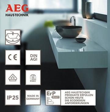AEG 189554 MTH 350 hydraulischer Klein-Durchlauferhitzer EEK A, 3,5 kW drucklos für Handwaschbecken - 6