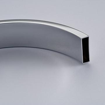 Auralum® Moderne 360°Drehbar Niederdruck Küchenamatur Waschtischarmatur Armatur Wasserhahn Spültsch Einhandmischer Waschtisch aus Messing Verchromt für Küche Waschbecken - 5