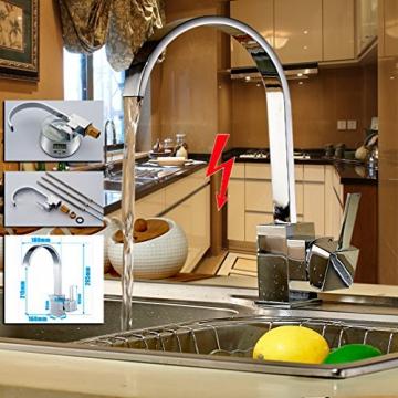 auralum niederdruck einhebel k chearmatur sp ltischarmatur waschtisch armatur wasserhahn. Black Bedroom Furniture Sets. Home Design Ideas