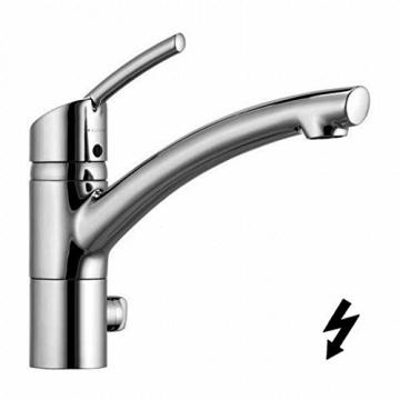 """Einhebel Küchenarmatur mit Geräteanschluss,Chrom. Niederdruck. Modell: """"DIANA"""" 339770575-27 - 1"""