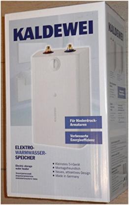 Elektro-Warmwasser-Speicher Kaldewei 805U - 1