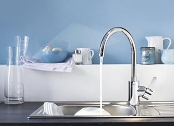 GROHE Eurosmart Cosmopolitan Küchenarmatur, hoher Auslauf, Niederdruck, Schwenkbereich 160° 31180000 - 5