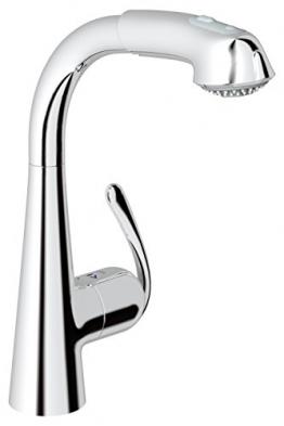 GROHE Zedra Küchenarmatur, Niederdruck, Komfort-Spülbrause 32555000 - 1