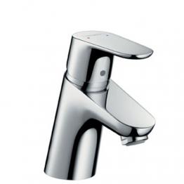 Hansgrohe Waschtisch-Einhebelmischer Focus mit Ablaufgarnitur, Niederdruck, verchromt, 31132000 - 1