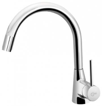 Ideal Standard B9331AA Küchenarmatur Nora verchromt Niederdruck mit herausziehbarer Handbrause - 1