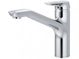 Ideal Standard Spültisch-Einhebelmischer Ausladung 238 mm, Niederdruck, edelstahl, B9494GN - 1
