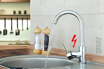 Niederdruck Designer Spültisch Küchen Armatur Küchenarmatur von Sanlingo - 1