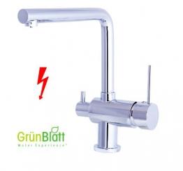 Niederdruck Küche Armatur mit Maschinenanschlauss Geräteanschluss Küchenarmatur Einhebelmischer Wasserhahn küchenarmaturen armaturen - 1