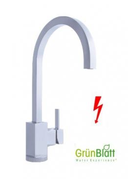 Niederdruck Quadratische Eckige Küche Armatur Küchenarmatur Einhebelmischer Wasserhahn küchenarmaturen armaturen - 1