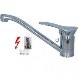 Niederdruck Spültischarmatur Küchen Armatur Chrom Design A - 1