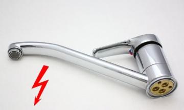 Niederdruck Spültischarmatur Wasserhahn Armatur Spültisch 200-7 - 2