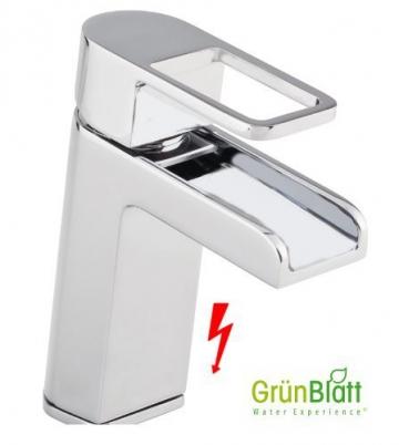 Niederdruck Wasserfall Bad Armatur Waschtischarmatur Einhebelmischer Wasserhahn Badarmaturen armaturen Waschtischarmaturen - 1