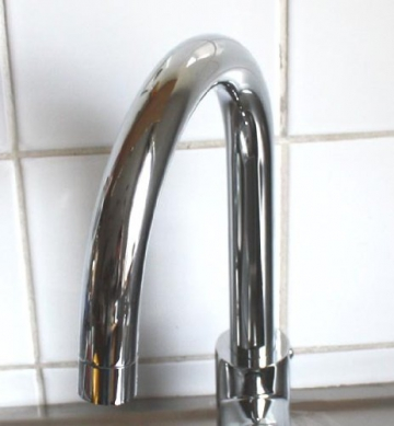 Orlando Spültischarmatur Küchenarmatur Niederdruck Chrom - 2