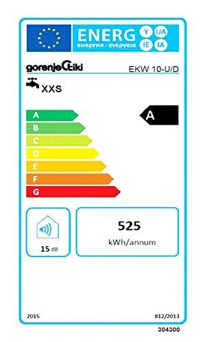respekta Gorenje Boiler Warmwasserspeicher Untertisch 10 Liter mit Armatur EKW 10 U + Qmix 700 Set - 4