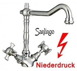 Retro Niederdruck Designer Spültisch Küchen Armatur Küchenarmatur von Sanlingo - 1