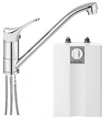 Stiebel Eltron Boiler Warmwasserspeicher Untertisch 5 Liter mit Niederdruck Armatur - 1