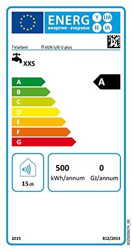 Vaillant 0010012785 ND-Speicher VEN 5 U plus Temperier Armatur VNU 2 für Waschtisch/Spüle - 4