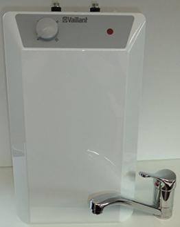 Vaillant Boiler Warmwasserspeicher Untertisch 10 Liter mit Armatur Qmix 700 - 1