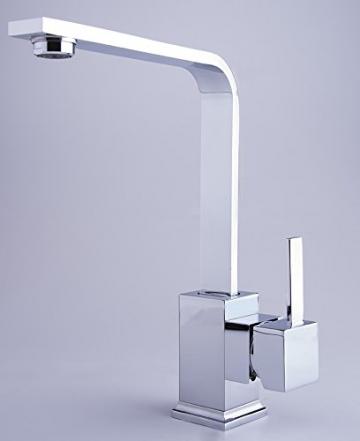 W62 Niederdruck Spültisch KÜCHEN BAD Waschtisch Armatur Küchenarmatur Wasserhahn - 4