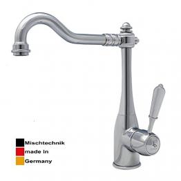 Burgtal 17620 K-27-NC Tarila Einhebel Niederdruck Nostalgie Spültisch Küchen Armatur chrom - 1