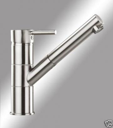"""Hochwertige Niederdruckarmatur-XEROX -Handmade Küchenarmatur-Spültischarmatur-Einhebelmischer-""""Handmade""""-Ausziehbar-Nr.8866-Edelstahl -VAF - 1"""