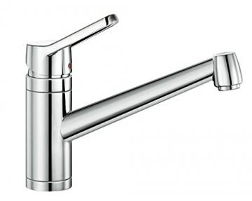 Blanco ACTIS Küchenarmatur, metallische Oberfläche, chrom, Niederdruck, 1 Stück, 512890 - 1