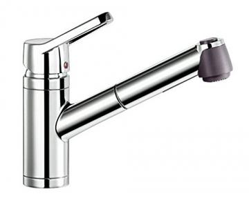 Blanco ACTIS-S Küchenarmatur, metallische Oberfläche, chrom, Niederdruck, 1 Stück, 512914 - 1