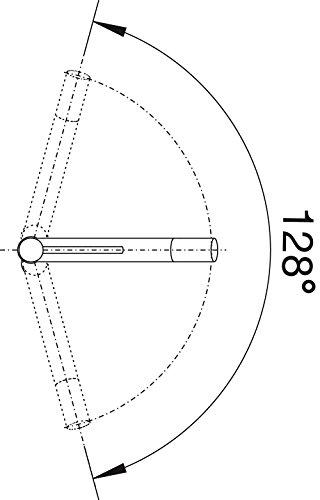 Blanco ALTA-S Compact Küchenarmatur, metallische Oberfläche, chrom, Niederdruck, 1 Stück, 518448 - 3