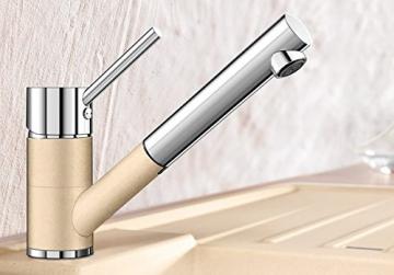 Blanco ANTAS-S Küchenarmatur, Silgranit-Look, anthrazit / chrom, Niederdruck, 1 Stück, 516772 - 2