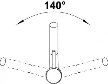 Blanco ANTAS-S Küchenarmatur, Silgranit-Look, anthrazit / chrom, Niederdruck, 1 Stück, 516772 - 3