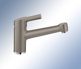 Blanco Elipso II Tartufo Braun Wasserhahn Niederdruck Armatur Einhandmischer - 1