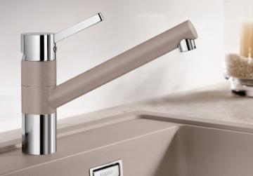 Blanco Tivo Alumetallic Niederdruck Küchenarmatur Einhandmischer Mischbatterie - 2