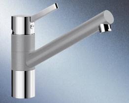 Blanco Tivo Alumetallic Niederdruck Küchenarmatur Einhandmischer Mischbatterie - 1