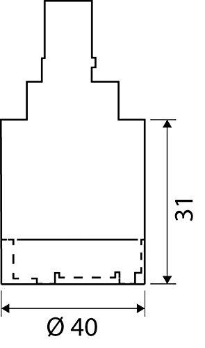 Ersatzkartusche Nummer 53 | Basic | Für Niederdruck-Armaturen | Mischbatterie | 40 mm - 2