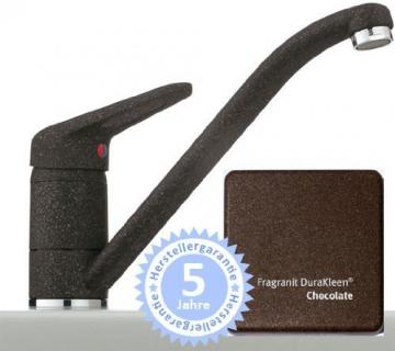 Franke 751 Chocolate Niederdruck Küchenarmatur Einhandmischer Braun Fragranit ND - 1