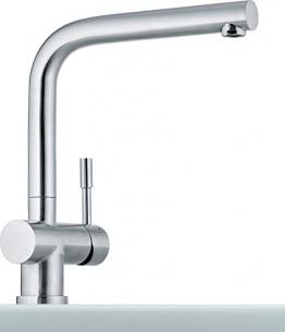 Franke Atlas Edelstahl massiv Niederdruck Armatur Wasserhahn Mischbatterie Küche - 1