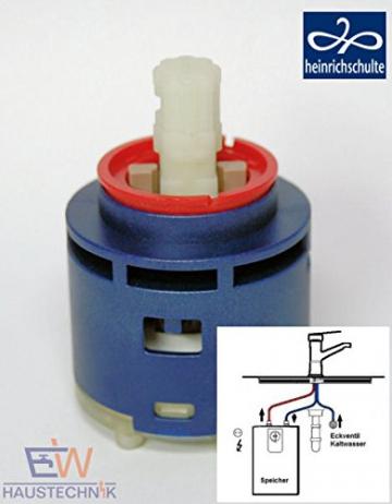 heinrichschulte Steuereinheit/Kartusche Ø 44 mm für Einhebelmischer-Niederdruck - 1