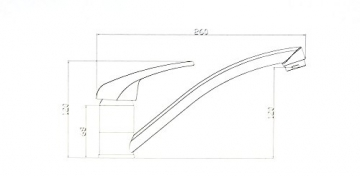 TG Niederdruck Küche Armatur Küchenarmatur Einhebelmischer Boiler Anschluss, verchromt - 2