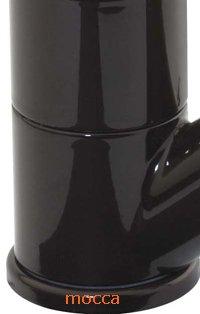 Niederdruck Spültischarmatur Küchenarmatur mit umstellbarer Geschirrbrause in mocca -
