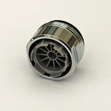 10er-Pack Full Flow Niederdruck Strahlbrecher (für drucklose Systeme) verchromt M 24 x 1 -