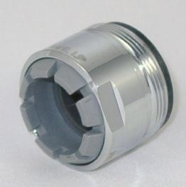 Neoperl Strahlregler Neostrahl LP 01426345 AG M 28x1 für Niederdruck, verchromt, 1426345 -