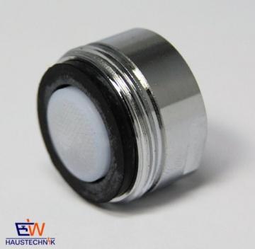 SPAR-Mischdüse Strahlregler Luftsprudler 6,0 L/min - M 24x1 IG verchromt -