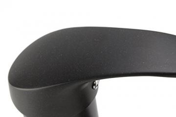 ATCO® Niederdruck Einhandmischer Armatur Spüle Granit schwarz Spültisch Küchenarmatur EHM Brause -
