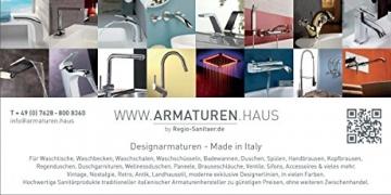 Niederdruck Landhausstil Spültisch Küchenarmatur gold 24 Karat mit 2-Griff Mischbatterie im Nostalgie Retro Antik Design, z.B. für Elektroboiler -